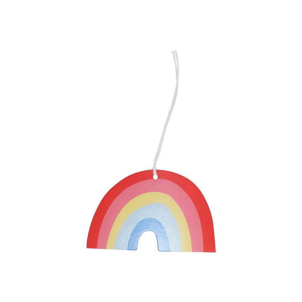 Image of 10ct Rainbow Paper Gift Decoration Tag - Spritz