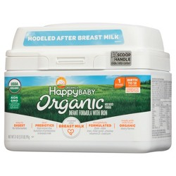 Happy Baby Stage 1 Infant Formula with Iron - 21oz