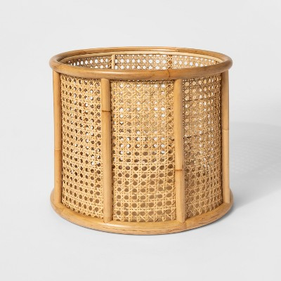 15  x 12  Decorative Rattan Cane Basket Brown - Project 62™