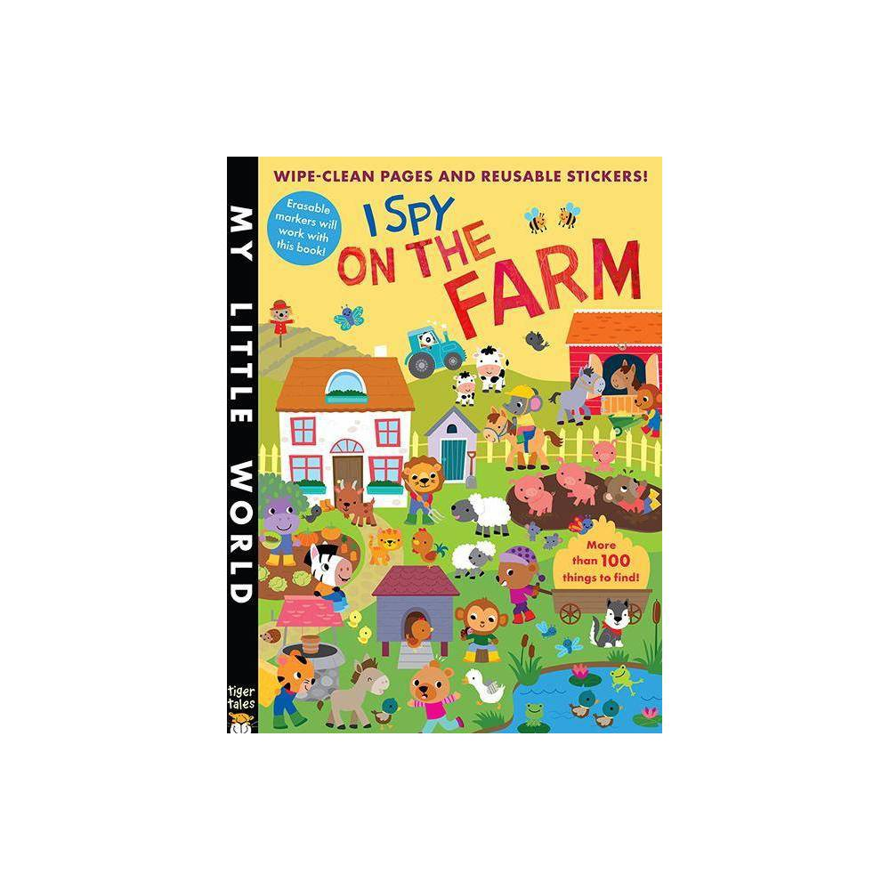 Stickers I Spy On The Farm By Litton Jonathan Paperback
