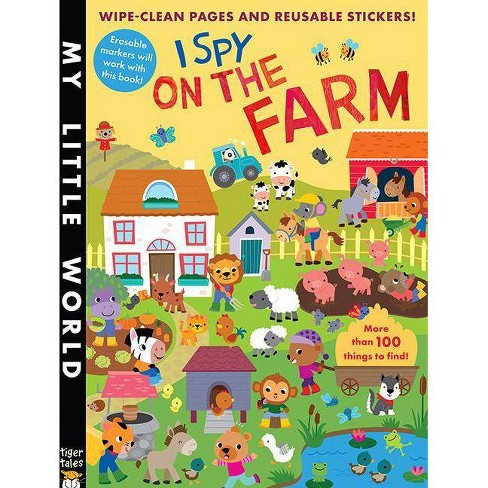Stickers-I Spy On The Farm - By Litton Jonathan (Paperback) - image 1 of 1