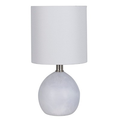 Faux Alabaster Globe Table Lamp White - Project 62™