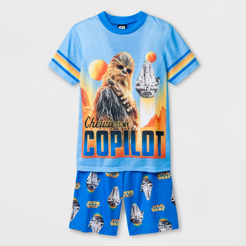 Boys' Star Wars Pajama Set - Blue M