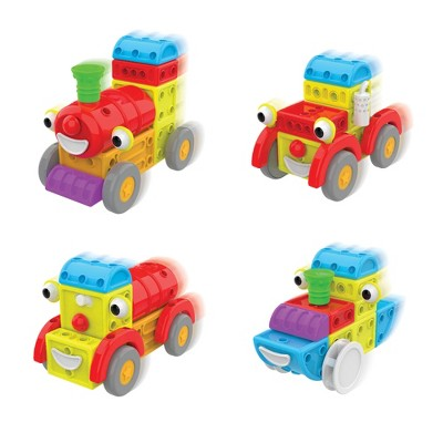 The Learning Journey Techno Kids 4 IN 1 Around Town Construction Sets