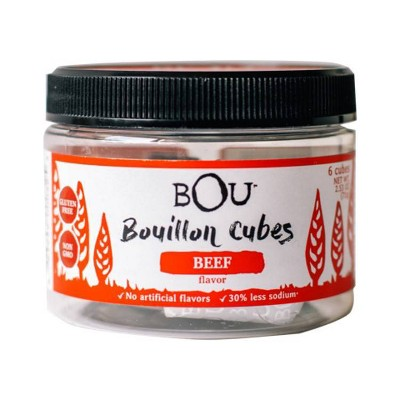 Bou Brands Bouillon Cube Beef- 2.53oz