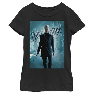Girl's Harry Potter Half-Blood Prince Draco Poster T-Shirt