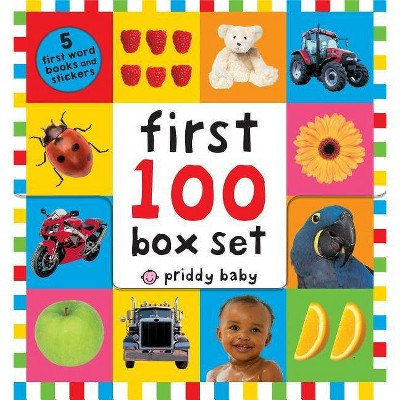 First 100 PB Box Set (5 Books)- by Roger Priddy (Mixed Media Product)