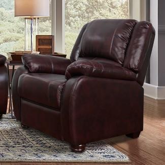 Barron Chair Dark Brown - Lifestyle Solutions