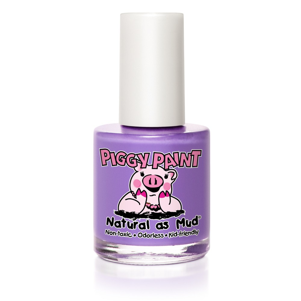Image of Piggy Paint Nail Polish Periwinkle Little Star - 0.33oz, Purple Little Star
