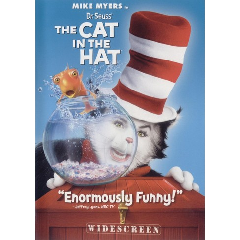 3552c489 Dr. Seuss' The Cat In The Hat (WS) (dvd_video) : Target