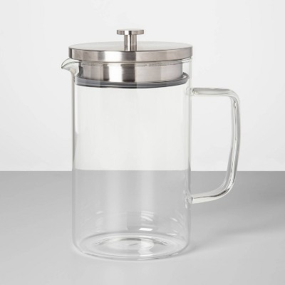 67oz Glass Pitcher with Stainless Steel Lid - Made By Design™