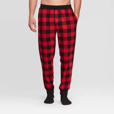 Men's Plaid Pajama Pants   Goodfellow & Co™ Red by Goodfellow & Co