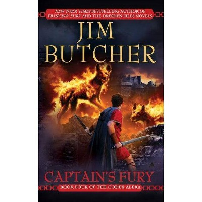 Captain's Fury - (Codex Alera (Paperback)) by  Jim Butcher (Paperback)