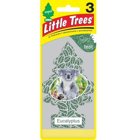 little trees eucalyptus air freshener 3pk target
