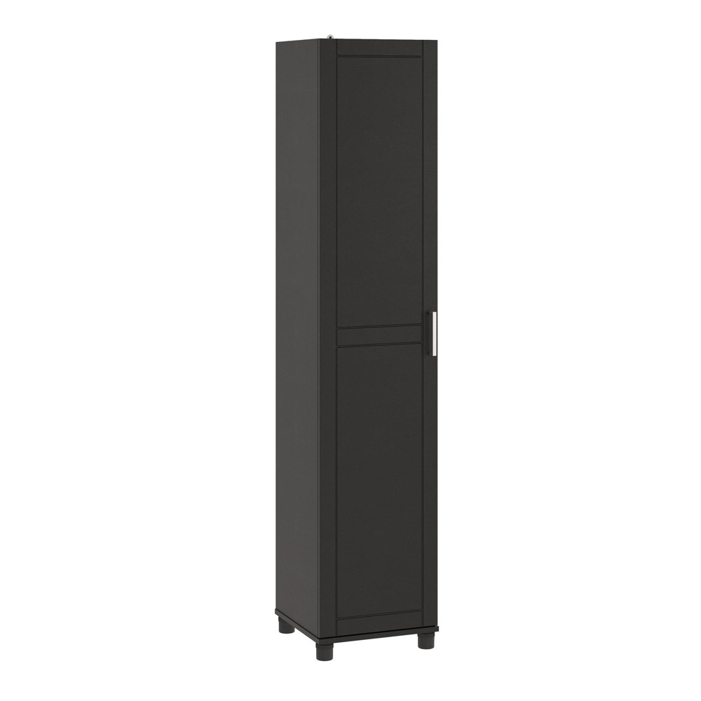 "Image of ""16"""" Welby Utility Storage Cabinet Black - Room & Joy"""