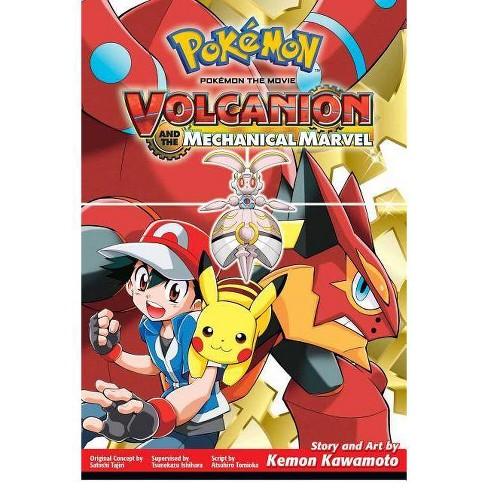 Pokemon The Movie Volcanion And The Mechanical Marvel Pokemon