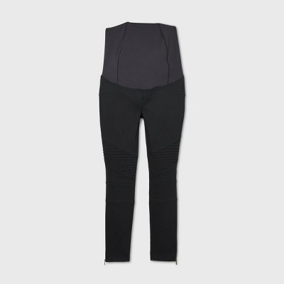 Maternity Crossover Panel Utility Jeggings - Isabel Maternity by Ingrid & Isabel™
