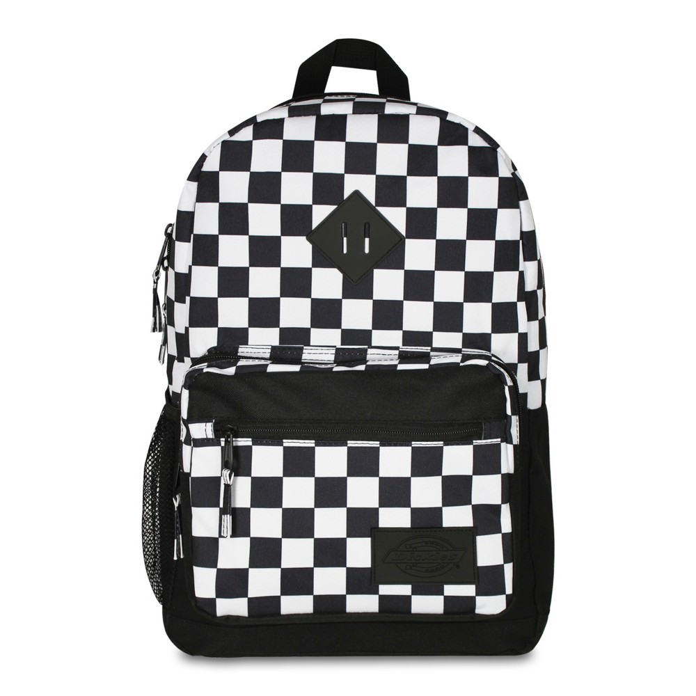 Dickies 17.5 Study Hall Backpack - Black/White Checkerboard