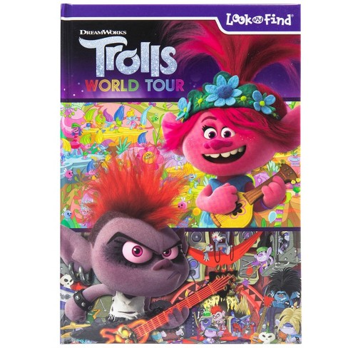 DreamWorks Trolls World Tour - (Look and Find) (Hardcover) - image 1 of 4