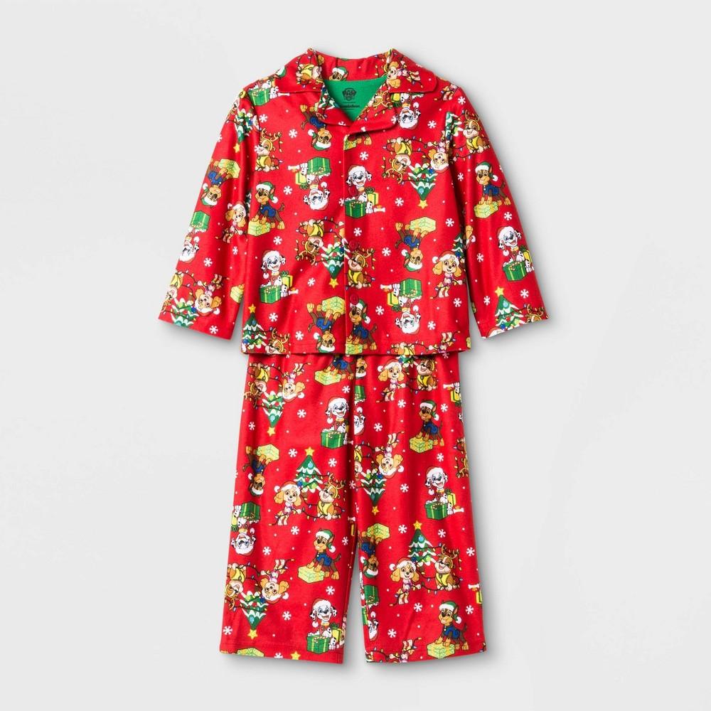 Image of Baby Boys' PAW Patrol Coat Pajama Set - Red 12M, Boy's