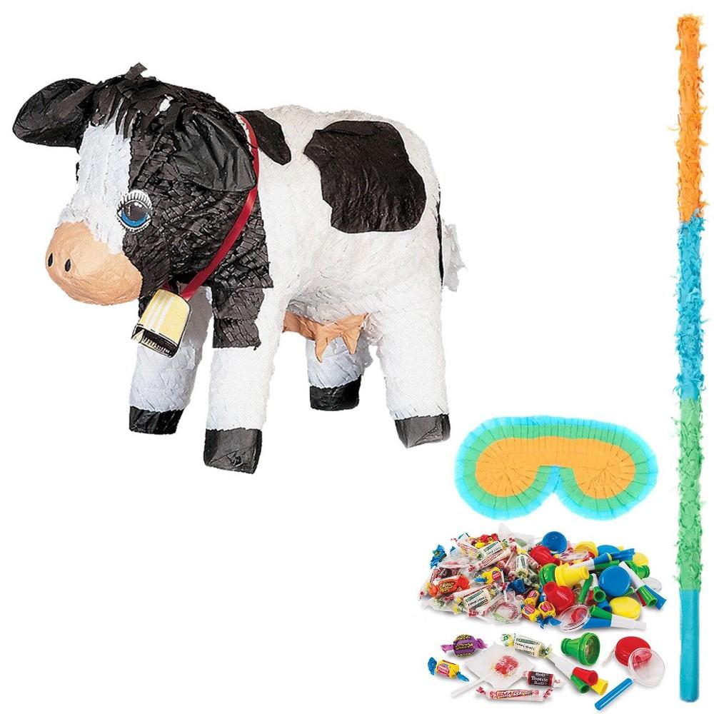 Cow Pinata Kit, Multi-Colored