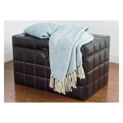 Throw Blankets 50 X60  Blue - Rizzy Home