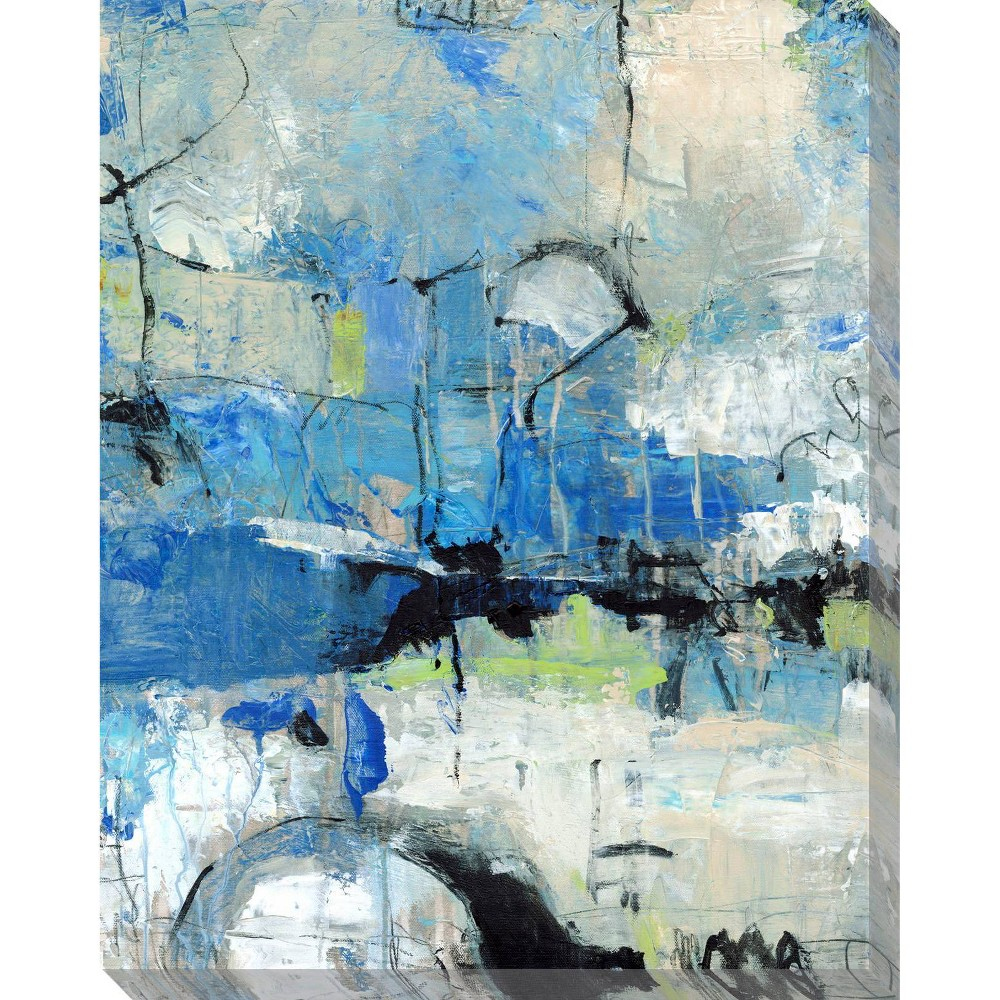 Image of Spontaneous II Unframed Wall Canvas Art - (24X30)