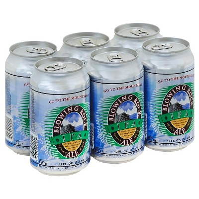 Blowing Rock IPA Beer - 6pk/12 fl oz Cans