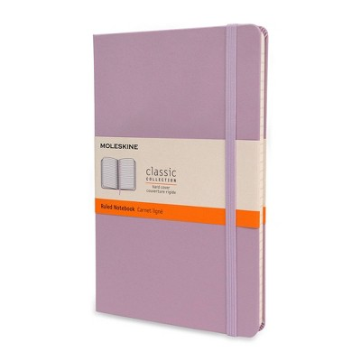 Moleskine Lined Professional Journal Large Lilac Hard Classic