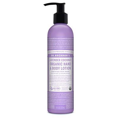 Dr.Bronner's Organic Hand & Body Lotion Lavender Coconut - 8oz