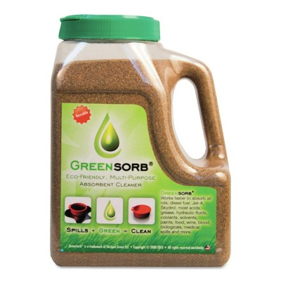 GreenSorb GS-4-QUAD 4 lbs. Shaker Bottle Eco-Friendly Clay Sorbent