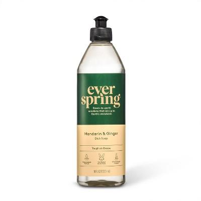 Mandarin & Ginger Liquid Dish Soap - 18 fl oz - Everspring™