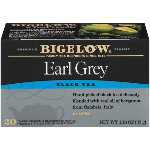 Bigelow Earl Gray Black Tea Bags - 20ct : Target