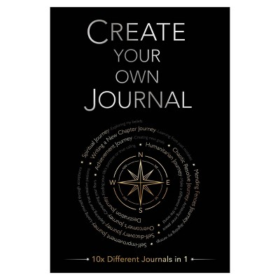 """Guided Journal 5.6""""x 8.3"""" Create Your Own Journal - Piccadilly"""