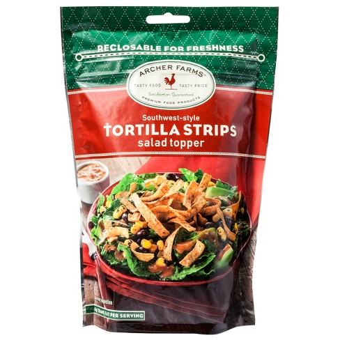 Southwest Style Tortilla Strips Salad Toppers - 4oz - Archer Farms™ - image 1 of 1