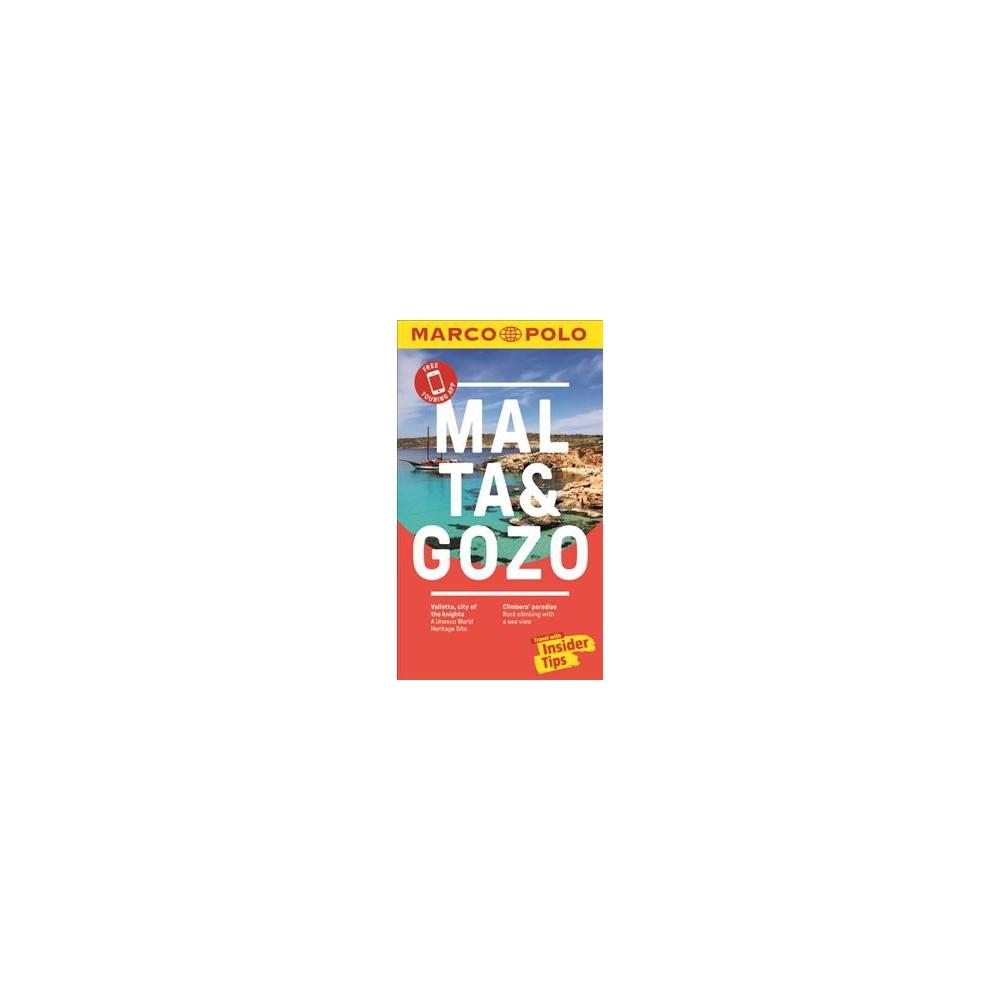 Marco Polo Malta & Gozo - 3 Pap/Map (Marco Polo Malta (Travel Guide)) (Paperback)