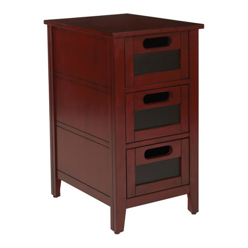 Avery Chair Side Table - Office Star Products - image 1 of 5