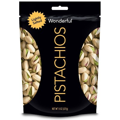 Nuts & Seeds: Wonderful Pistachios Roasted & Lightly Salted