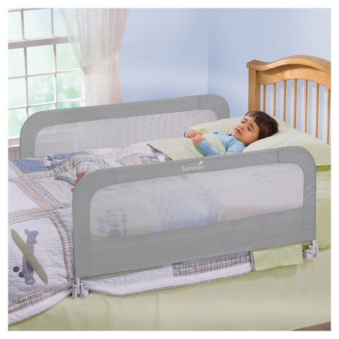 Summer Infant Double Safety Bedrail Gray Target