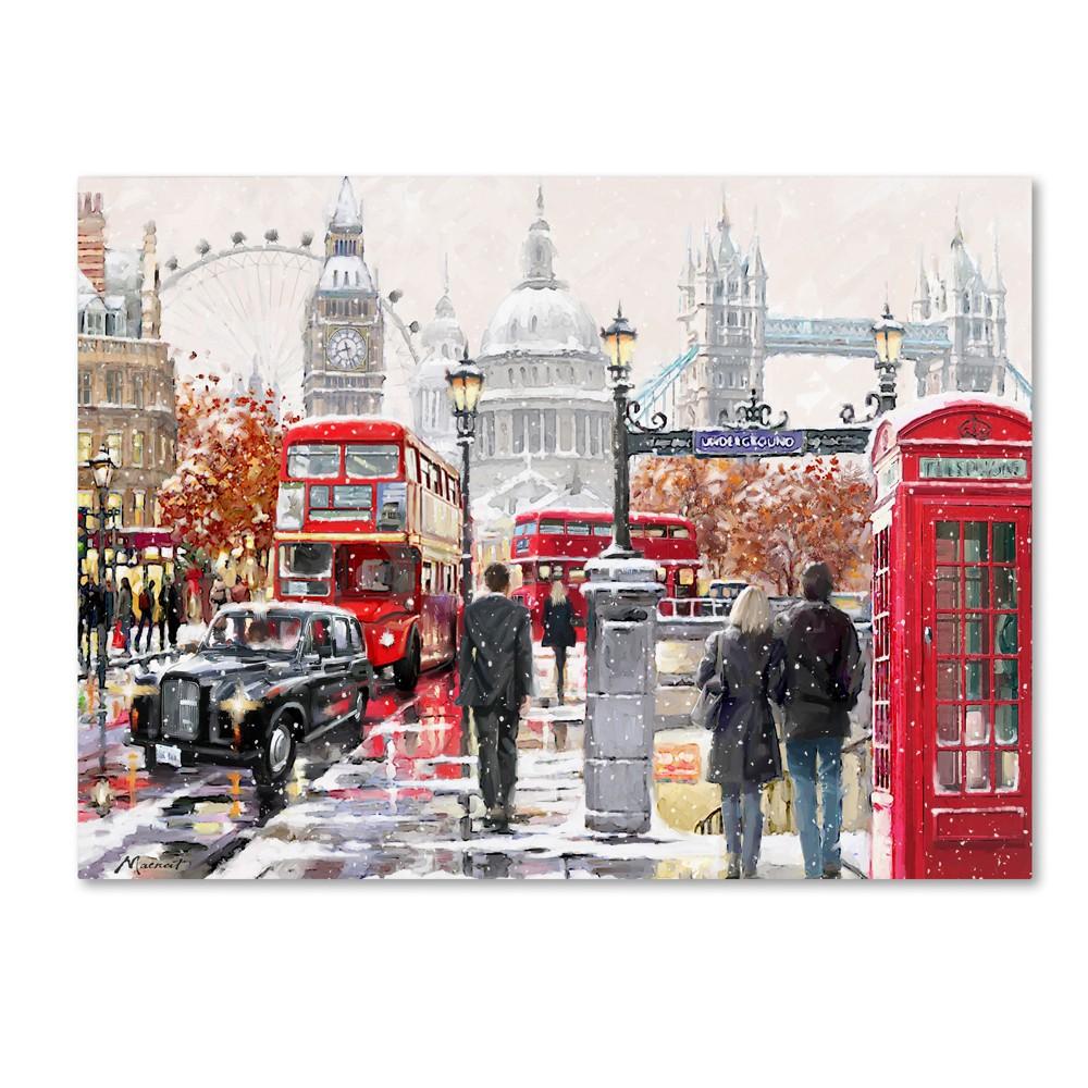 The Macneil Studio London Collage Copy Canvas Art 18