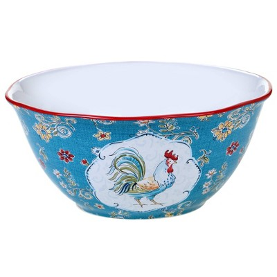 192oz Earthenware Morning Bloom Serving Bowl - Certified International