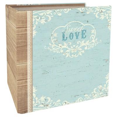 Paper House® Book-Bound Scrapbook - Wedding Love