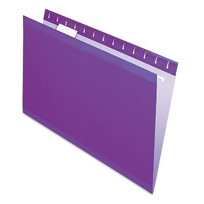 Pendaflex Reinforced Hanging Folders 1/5 Tab Legal 25/Box