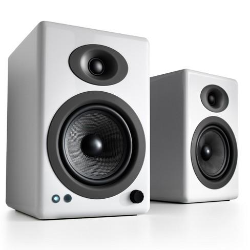Audioengine A5+ Wireless Powered Bookshelf Speakers - Pair - image 1 of 3