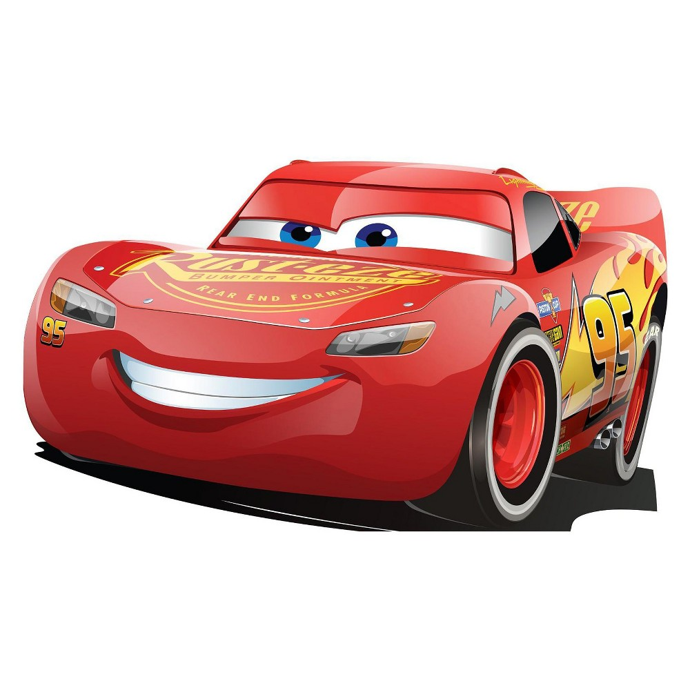 Lightning McQueen - Cars 3 Stand In, Multi-Colored