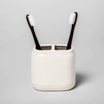 Toothbrush Holder Cream - Threshold™