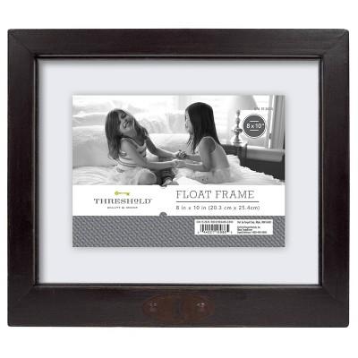"8"" x 10"" Reclaimed Wood Frame Black - Threshold™"