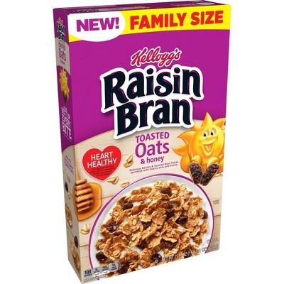 Raisin Bran Oats Family Size - 22.1oz - Kellogg's