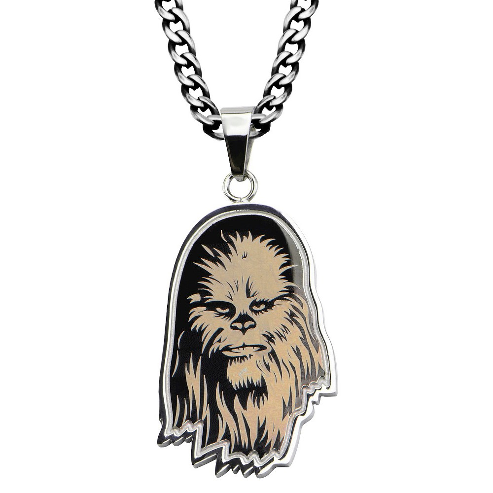 Men's Star Wars Chewbacca Stainless Steel Pendant (22)