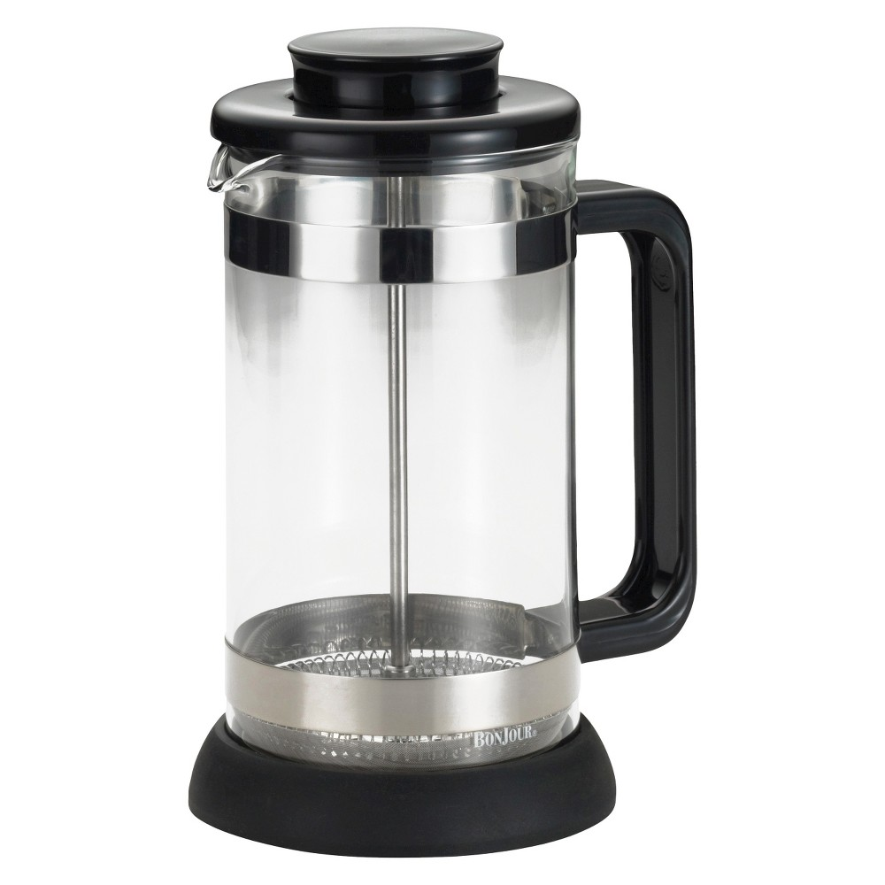Bonjour Riviera 8 cup French Press, Black 16494770